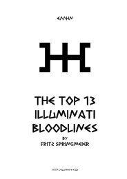 The Top 13 Illuminati Bloodlines