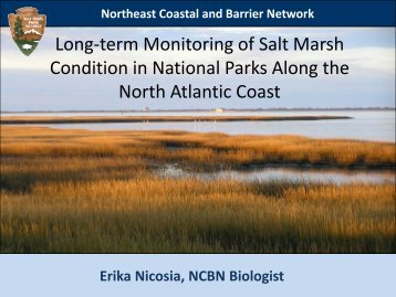 Northeast Coastal and Barrier Network - Restore America's Estuaries