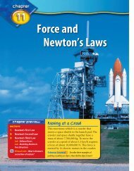 Force and Newton's Laws