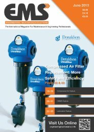 To read the August 2013 edition of EMS magazine please click here!