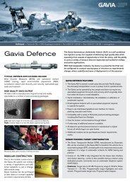Manufacturing Spec Sheet - AUVAC