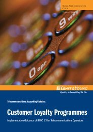 Customer Loyalty Programmes - Ernst & Young