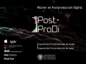Presentación del Máster 2011-2012