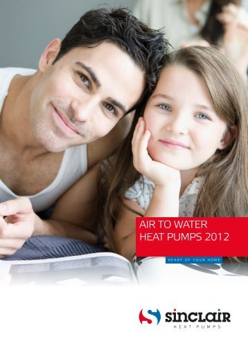 AIR TO WATER HEAT PUMPS 2012