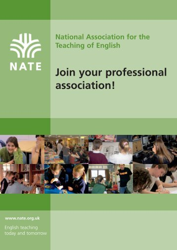 NATE Join your professional association! - National Association for ...