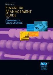 FINANcIAL MANAGEMENT GuIdE - National Association of ...