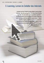 E-Learning: Lernen im Zeitalter des Internets