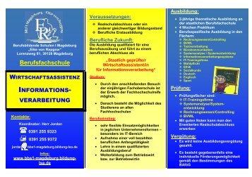 Berufsfachschule Informationsverarbeitung - Berufsbildende ...