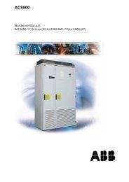 EN / ACS800-17 Drives Hardware Manual - Simark Controls