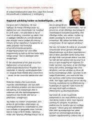 Regional udvikling holder os beskæftigede… - Lasse Ahm Consult