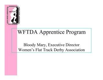 What is the Apprentice Program? - Women's Flat Track Derby ...