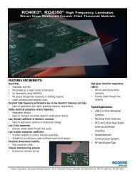 RO4003®, RO4350® - NOVA Document Database
