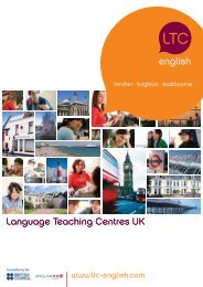Language Teaching Centres UK english Language Teaching ...
