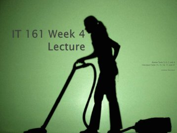 Lecture PowerPoint PDF