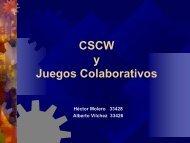 CSCW y Juegos Colaborativos