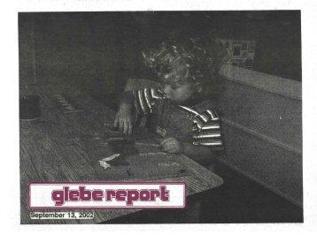 Glebe Report - Volume 32 Number 8 - September 13 2002