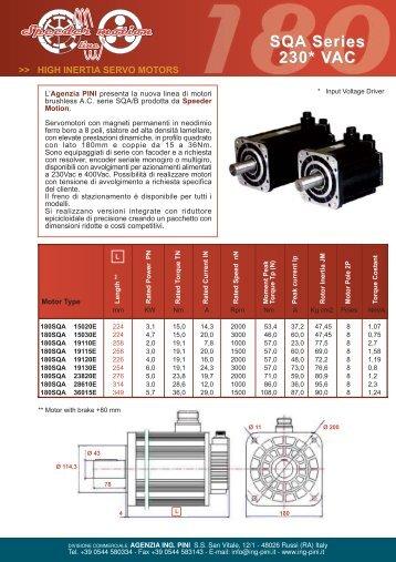 SQA Series 230* VAC - agenzia ing. pini