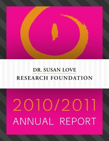 download here - Dr. Susan Love Research Foundation