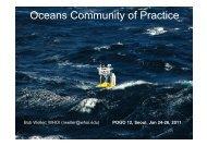 Oceans Community of Practice: Bob Welle - POGO