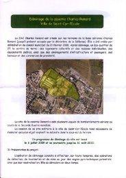 La ZAC Chorles Renord est située sur les terrains de lo bose ...