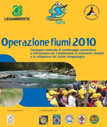 Operazione fiumi 2010 - Legambiente