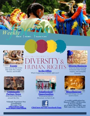 Weekly News 12-12-12