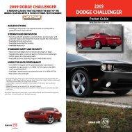 2009 DoDge Challenger - Sequentialtaillights.com
