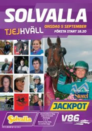 5 september - Solvalla
