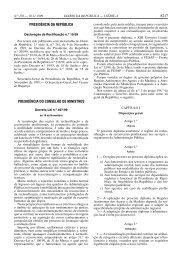 Decreto-Lei n.º 497/99 - BAD