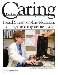Caring Headlines - HealthStream on-line education - Patient Care ...