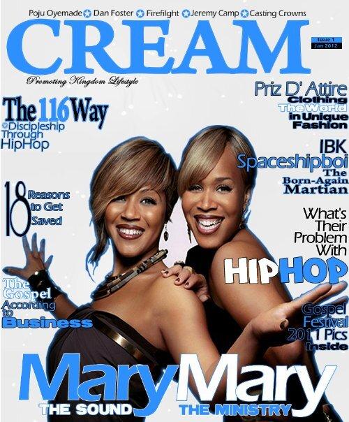 Cream Jan - CREAM MAGAZINE