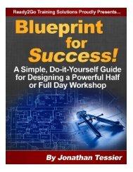 Blueprint for Success! - Ready2Go Community