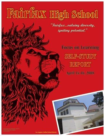 Fairfax High School WASC 2008.pdf - Fairfax Senior High School