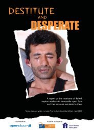 Destitute and Desperate - Open Door