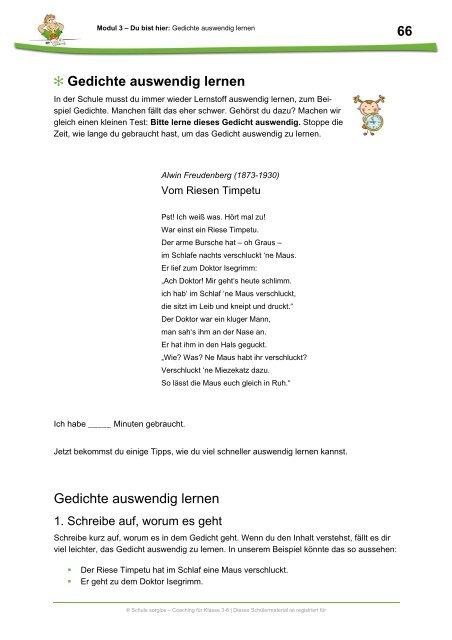 Weihnachtsgedichte Zum Auswendig Lernen.Gedichte Auswendig Lernen Schule Sorglos