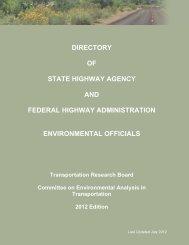 Environmental Directory