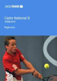 Table des matières - Swiss Tennis