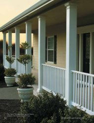 DuraGlass Square Columns - Turncraft