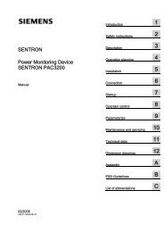 SENTRON PAC3200 - Industry
