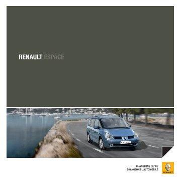 RENAULT ESPACE - Garages Nation