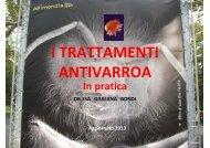 I TRATTAMENTI ANTIVARROA in pratica - Aprile ... - Azienda USL7