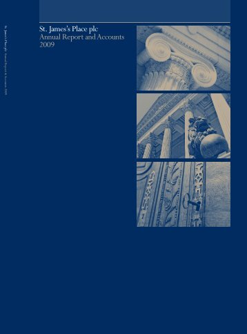 St. James's Place plc Annual Report and Accounts 2009