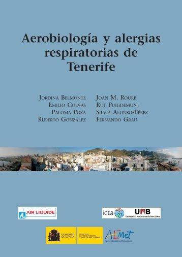 Aerobiología y alergias respiratorias de Tenerife
