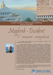 Maghreb - Occident : l'amour complexe - Terre Entière