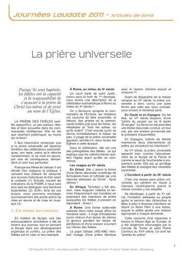 Lire la suite - Union Sainte Cécile
