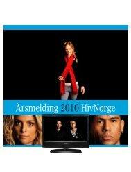 Årsmelding 2010 HivNorge