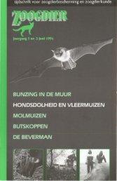 Zoogdieren van West-Europa - Zoogdierwinkel