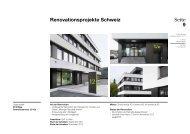 Seite 9 Renovationsprojekte Schweiz - Geschäftsbericht 2012-2013