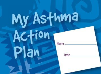 Asthma Action Plan - MaineGeneral Health