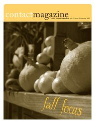 Contact Magazine – October 2012 - Christ Church Cathedral ...